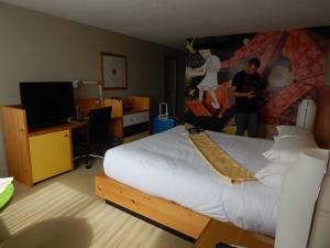 Très Bel hôtel Très bien situé dans le quartier japonais